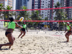 Vôlei de praia feminino de Praia Grande disputa Circuito ADAC