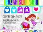 Bazar Metropolitano Solidário é nesta terça (12) no Fundo Social de Bertioga