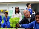 Projeto incentiva a educação ambiental com a criação de hortas em escolas em Itanhaém