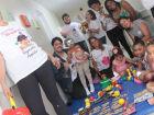 'Bagunça' é também terapia em hospital de Guarujá