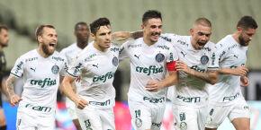 Palmeiras supera surto da covid-19, empata com o Ceará e vai à semifinal