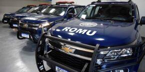 Guarda Civil Municipal de PG recebe nova frota de viaturas