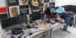 Peruíbe: Polícia prende homens que ostentavam na web com joias e dinheiro roubado