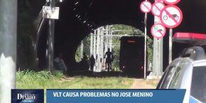 'Somos reféns da cracolândia', afirma moradora das redondezas do VLT, no José Menino