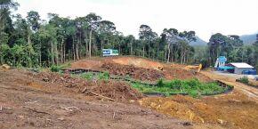 Movimento denuncia continuação de obra no Itapanhaú, em Bertioga