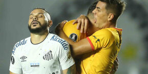 Santos perde para o Barcelona-EQU na estreia da fase de grupos da Libertadores