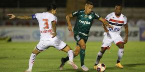 Palmeiras empata sem gols com o Botafogo-SP e amplia sequência negativa
