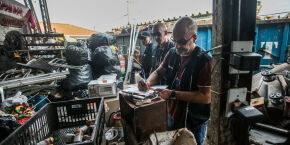 Projeto do Professor Kenny pretende brecar comércio ilegal em ferros-velhos