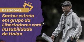 Santos estreia em grupo da Libertadores com instabilidade de Holan