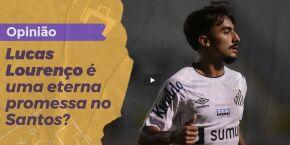 Opinião: Lucas Lourenço é uma eterna promessa no Santos?