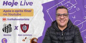Pós-Jogo: Santos x San Lorenzo-ARG pela Copa Libertadores da América