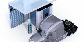 Fórum Econômico Mundial e gigantes da indústria preparam truck movido a hidrogênio