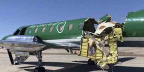 Piloto faz pouso de emergência sem notar que avião estava partindo ao meio