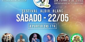 Bertioga: Shows do Festival Aldir Blanc terminam neste sábado