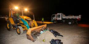 Não é pouca coisa! PG registra queda de 600 toneladas de lixo na orla durante lockdown