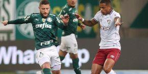 Palmeiras amplia invencibilidade contra Fluminense e mantém liderança do Brasileiro