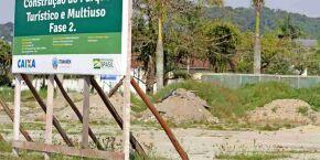 Parque Turístico em compasso de espera em Itanhaém