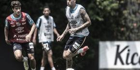 De volta ao time do Santos, Jobson comemora retorno da torcida à Vila Belmiro