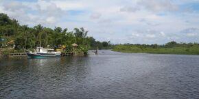 Deu B.O: Colisão entre embarcações deixa dois feridos no Rio Itanhaém