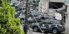 Homem morre e outros dois ficam feridos durante operação policial em morro de Santos