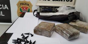 Polícia Civil apreende drogas que seriam vendidas em Santos