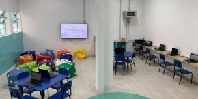 'Escolas que Inovam' agora beneficia a educação infantil em Santos