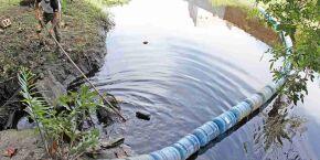 Projeto Ecobarreira quer despoluir Rio do Poço, em Itanhaém