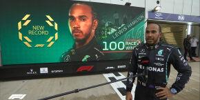 Hamilton vence a 100ª na Fórmula 1 e reassume a liderança