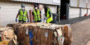 Receita Federal e Ibama encontram 72 contêineres com lixo no Porto de Santos