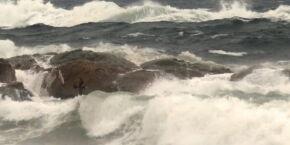 Sabia que o Gonzaguinha já foi 'engolido' pelo mar? Conheça essa história