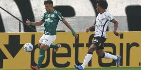 Em excelente jogo do Corinthians, Róger Guedes brilha e Timão bate o rival Palmeiras