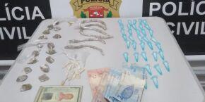 Homem é preso por suspeita de tráfico de drogas no Quarentenário, em São Vicente