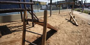 Em Praia Grande, Prefeitura conclui revitalização da Praça do Jacaré