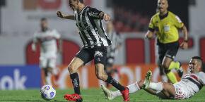 Em jogo estudado, São Paulo e Atlético-MG não saem do 0 a 0