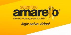 Prefeitura de Mongaguá divulga calendário da campanha 'Setembro Amarelo'