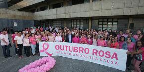 Praia Grande inicia Outubro Rosa com fila de espera de mamografia zerada