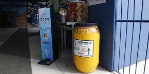 Guarujá lança seis pontos para a entrega voluntária de óleo de cozinha usado