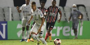 Santos fica só no empate contra o Botafogo: veja as fotos