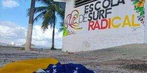Escolinha de surf em São Vicente oferece inscrição on-line