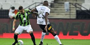 Corinthians é derrotado pelo América-MG na Copa do Brasil