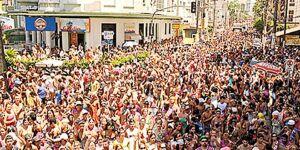 Ba-Bahianas Sem Taboleiro espera mais de 70 mil foliões nas ruas de São Vicente