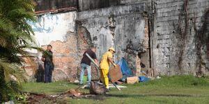 Prefeitura mantém recolhimento de materiais deixados em ruas do Centro de Santos