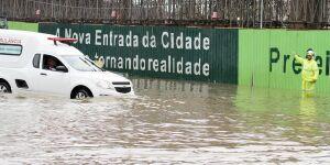 Contrato para obras de drenagem na entrada de Santos é prorrogado