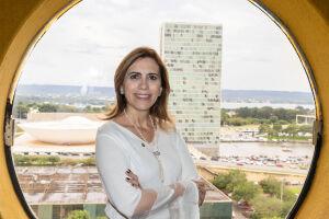 A deputada federal Rosana Valle
