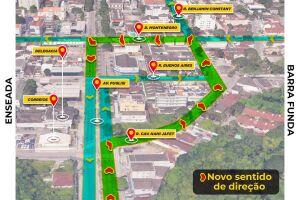 Objetivo da mudança é melhorar a fluidez do trânsito