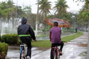 Chuva pode estar prestes a dar as caras novamente na Baixada Santista