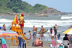 Segundo o Corpo de Bombeiros, já foram registradas 1.777 ocorrências de afogamento no litoral paulista, entre janeiro e agosto deste ano, e 36 óbitos