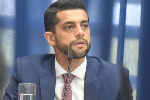Caio França agradeceu aos demais parlamentares pela confiança em ser reconduzido à função e também elogiou o trabalho e a parceria do deputado Bruno Ganem na vice-presidência do primeiro biênio