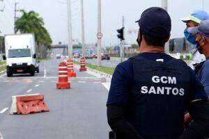 As barreiras sanitárias fazem parte da estratégia para evitar aglomerações