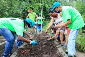 O programa tem o objetivo de revitalizar o local e dar nova utilidade aos canteiros ociosos